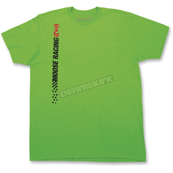Moose Green Race Day Tee Shirt - 3030-15882
