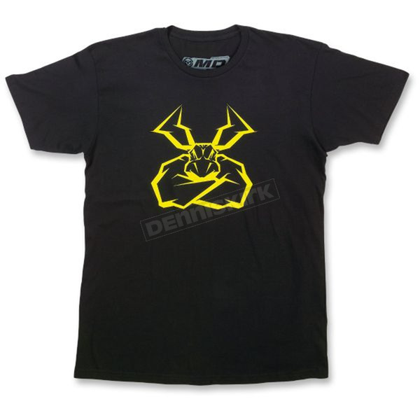 Moose Black Agroid T-Shirt - 3030-15888