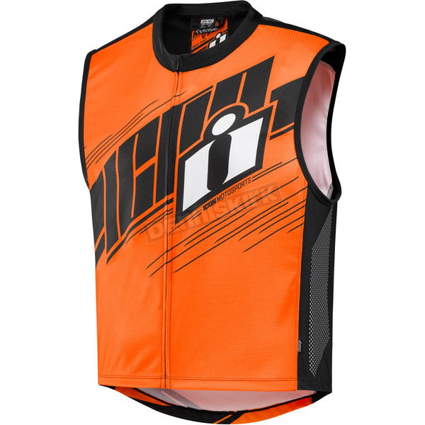 Icon Hi-Viz Orange Men's Mil-Spec 2 Vest - 2830-0450