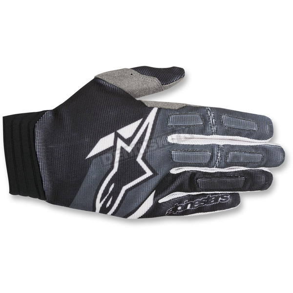 Alpinestars Black/Anthracite Aviator Gloves - 3560318-104-SM