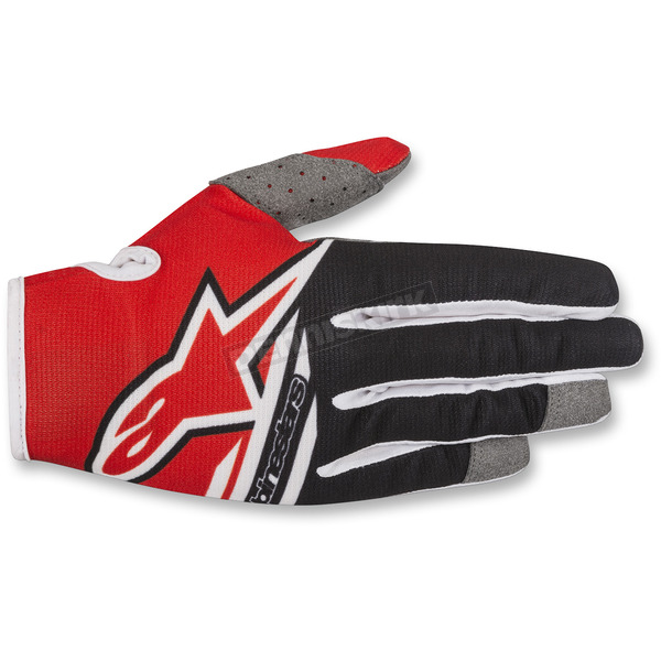 Alpinestars Red/Black Radar Flight Gloves - 3561818-31-XL