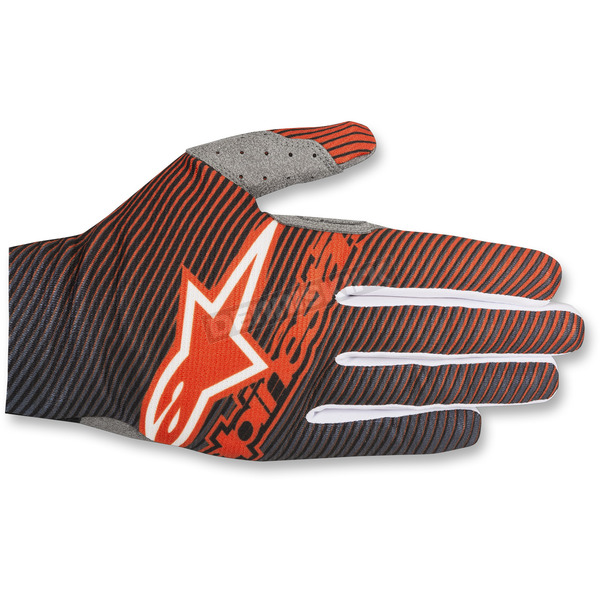 Alpinestars Orange/Blue Dune-1 Gloves  - 3562518-470-2X
