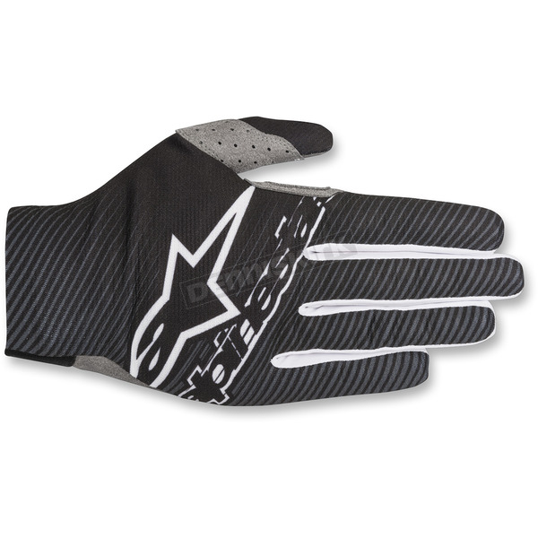 Alpinestars Black/White Dune-1 Gloves  - 3562518-12-XL