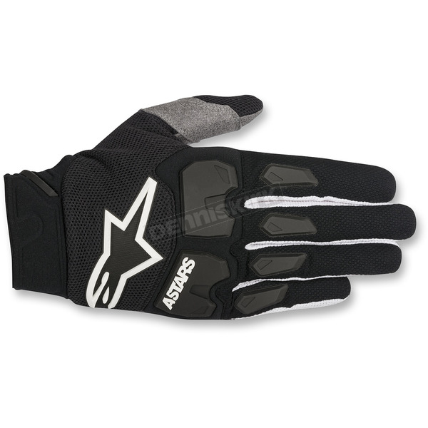 Alpinestars Black Racefend Gloves - 3563518-10-2X