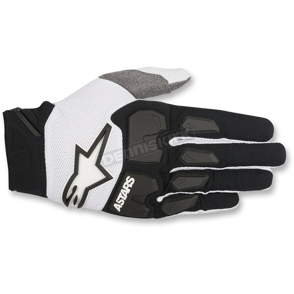 Alpinestars Black/White Racefend Gloves - 3563518-12-XL