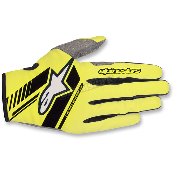 Alpinestars Fluo.Yellow/Black Neo Moto Gloves - 3565518-551-XL