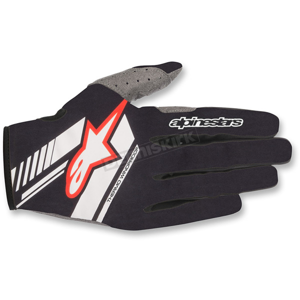 Alpinestars Black/White Neo Moto Gloves - 3565518-12-SM