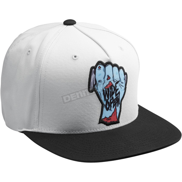 Thor White/Black Wide Open Snapback Hat - 2501-2766