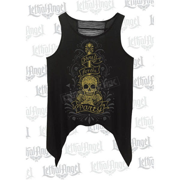 Lethal Threat Womens Here for the Party Tank Top - LA20516S