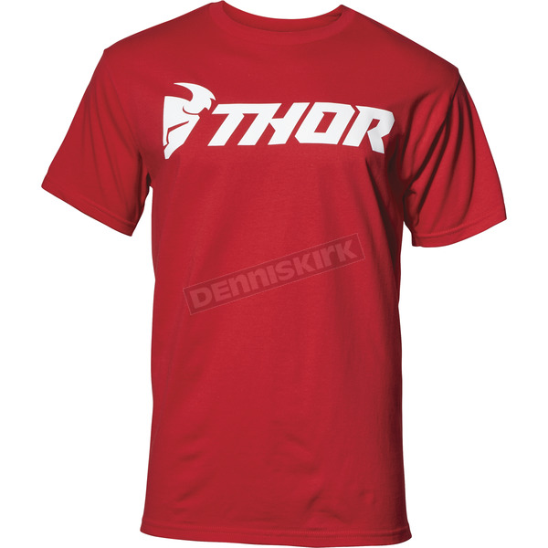 Thor Mens Red Loud Tee Shirt - 3030-15991