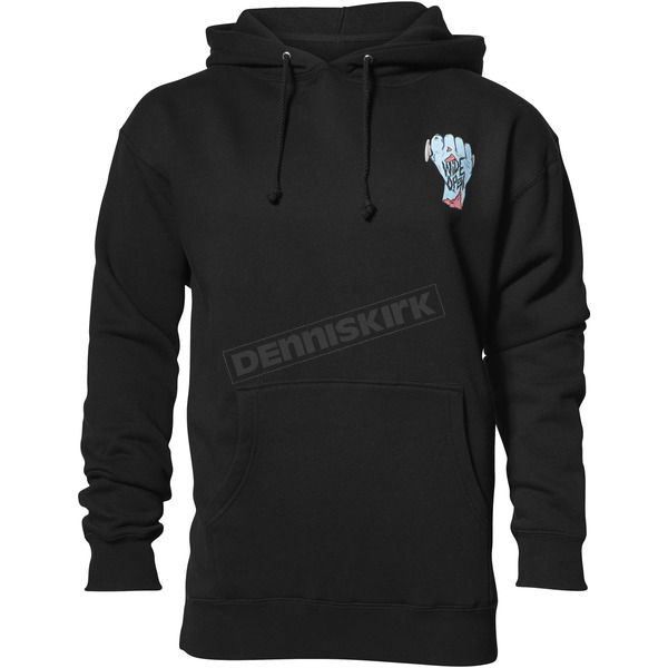 Thor Black Wide Open Pullover Hooded Sweatshirt - 3050-4286