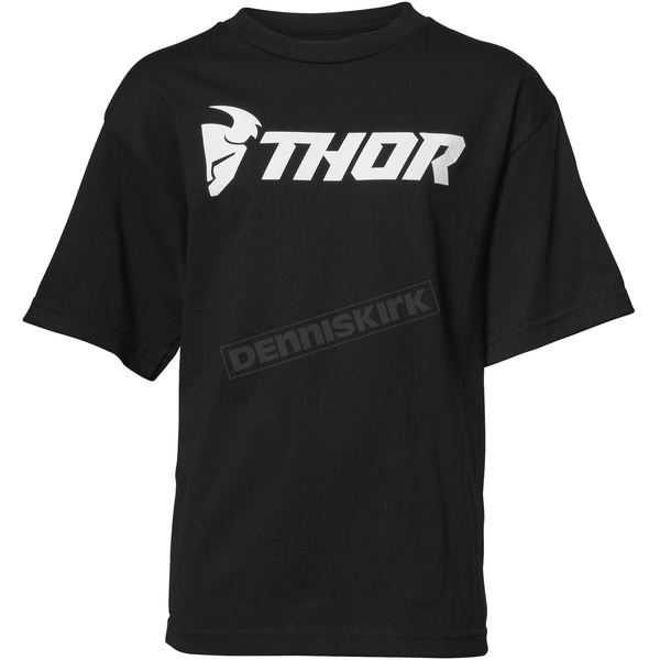 Thor Boys Black Loud Tee Shirt - 3032-2598