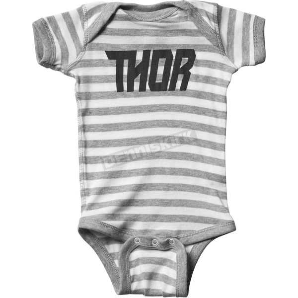 Thor Infant Gray Loud One-Piece Supermini - 3032-2671