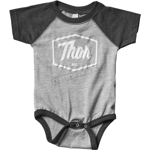 Thor Infant Black Script One-Piece Supermini - 3032-2678