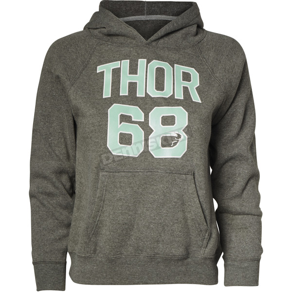 Thor Girls Nickel Team Pullover Sweatshirt - 3052-0436