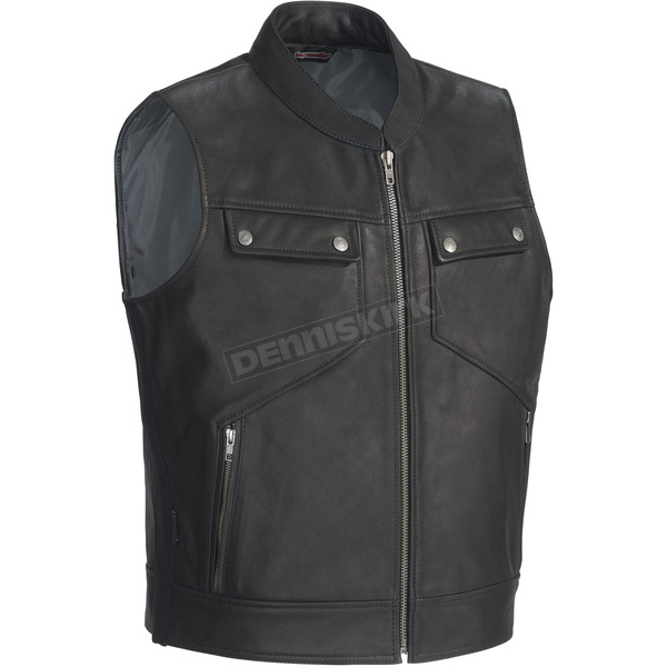 Tour Master Nomad Leather Vest - 8729-0105-03
