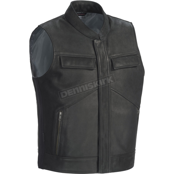 Tour Master Renegade Leather Vest - 8741-0105-07