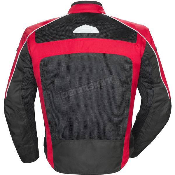 Tour Master Red/Black Draft Air Series 3 Jacket - 8751-0301-05