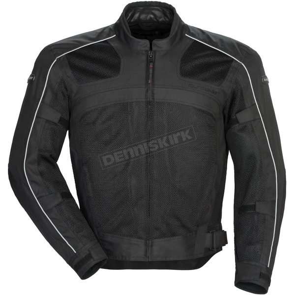 Tour Master Black Draft Air Series 3 Jacket - 8751-0305-06