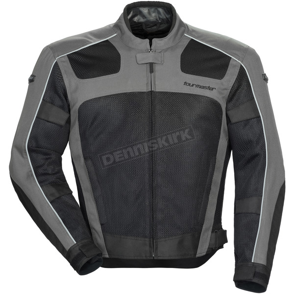 Tour Master Gray/Black Draft Air Series 3 Jacket - 8751-0307-06