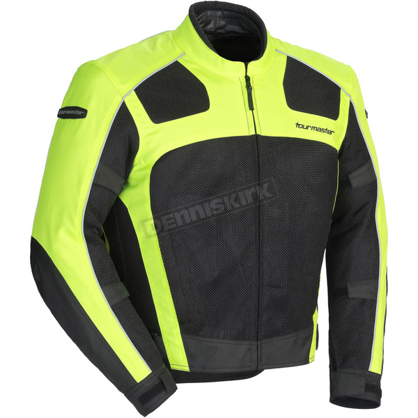 Tour Master Hi-Viz/Black Draft Air Series 3 Jacket - 8751-0313-07