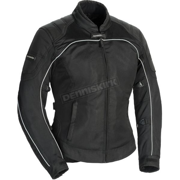 Tour Master Women's Black Intake Air 4.0 Jacket - 8767-0405-77