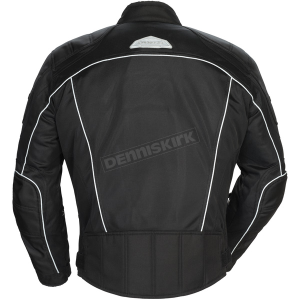 Tour Master Black Intake Air 4.0 Jacket - 8767-0405-16