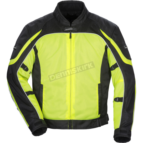 Tour Master Hi-Viz/Black Intake Air 4.0 Jacket - 8767-0413-19