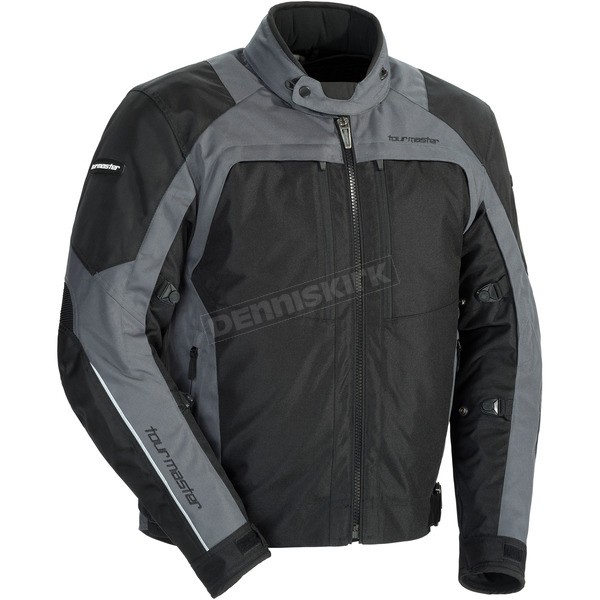 Tour Master Gunmetal/Black Pivot Jacket - 8778-0117-03