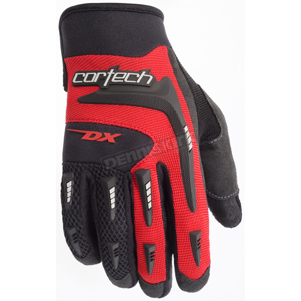 Cortech Youth Red DX 2 Gloves - 8313-0101-56