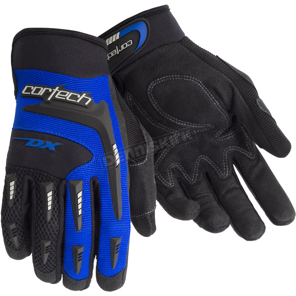 Cortech Blue DX 2 Gloves - 8313-0102-07