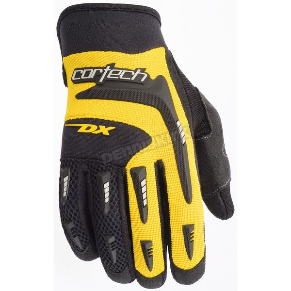 Cortech Yellow DX 2 Gloves - 8313-0103-08