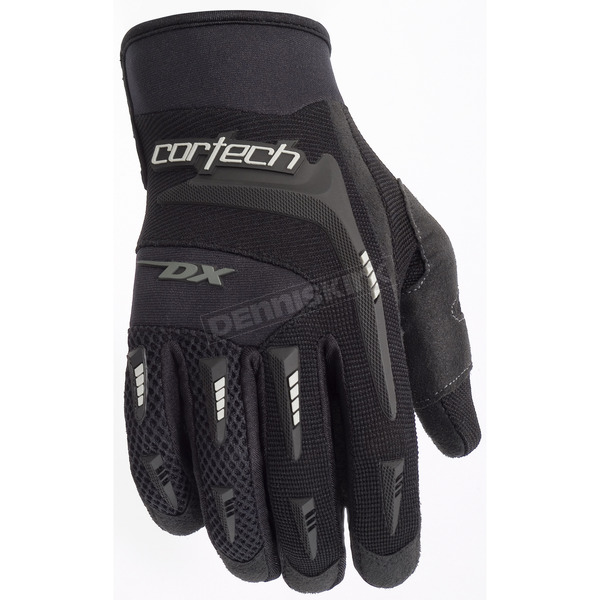 Cortech Black DX 2 Gloves - 8313-0105-03