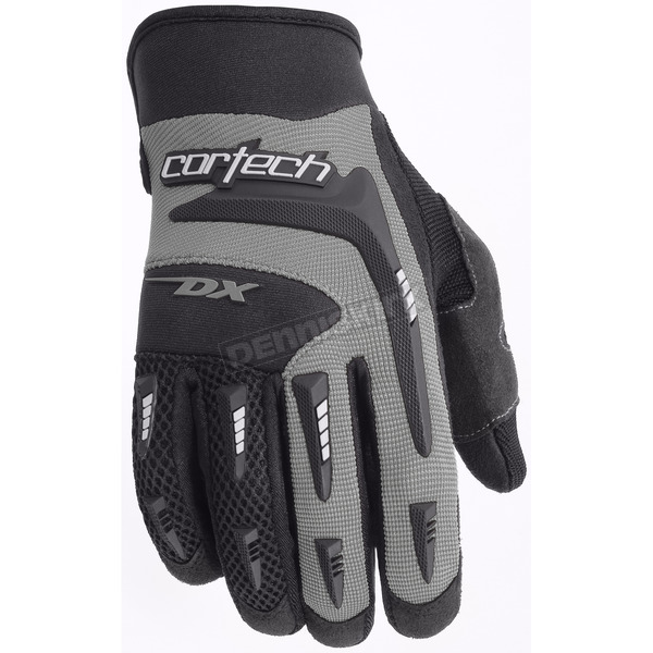 Cortech Youth Silver DX 2 Gloves - 8313-0107-55