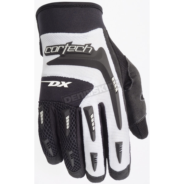 Cortech Women's White DX 2 Gloves - 8313-0109-76