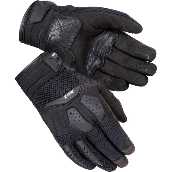Cortech Women's Black  DXR Gloves - 8316-0105-75