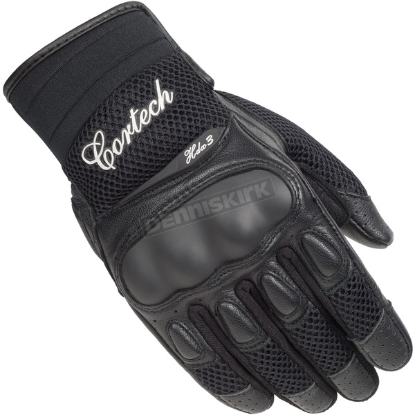 Cortech Women's Black HDX 3 Gloves - 8330-0305-75