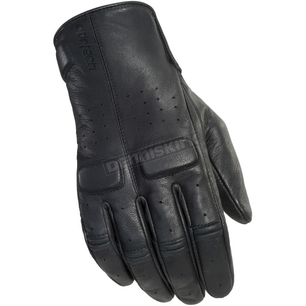 Cortech Rustic Black Heckler Gloves - 8335-0125-08