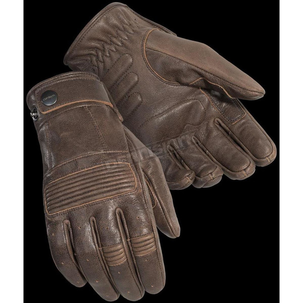 Cortech Cafe Brown Duster Gloves - 8336-0140-06