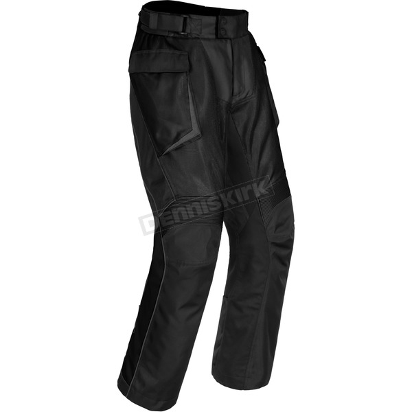 Cortech Black Sequoia XC Air Adventure Touring Pants - 8922-0105-17