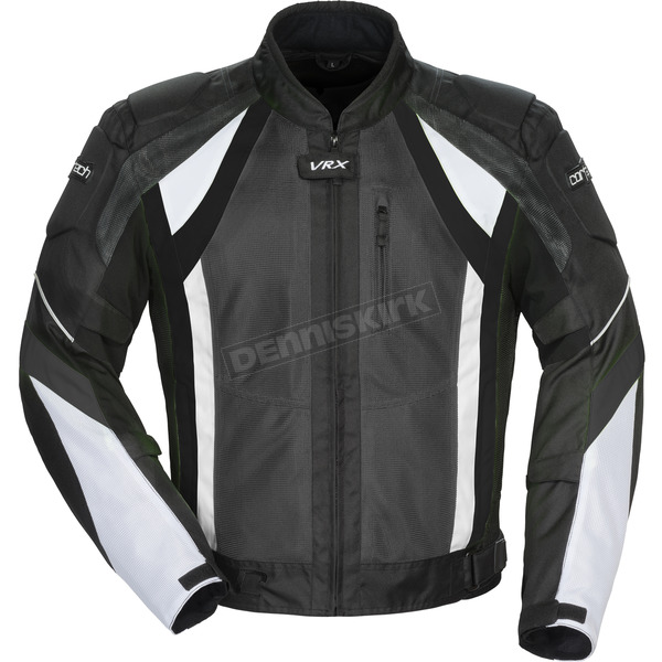 Cortech Gun/Black/White VRX Air Jacket - 8951-0117-03