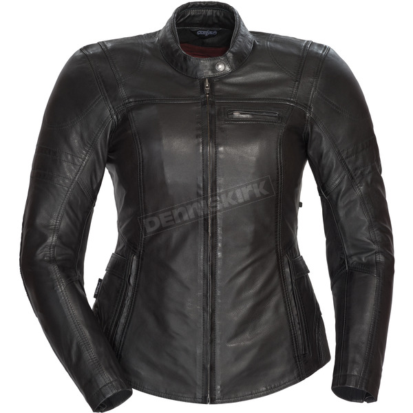 Cortech Women's Black Bella Leather Jacket - 8966-0105-85