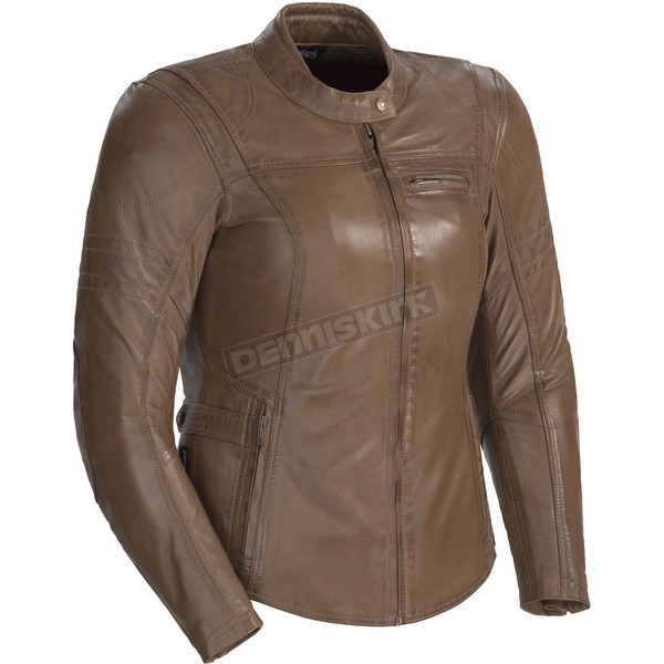 Cortech Women's Vintage Brown Bella Leather Jacket - 8966-0140-86