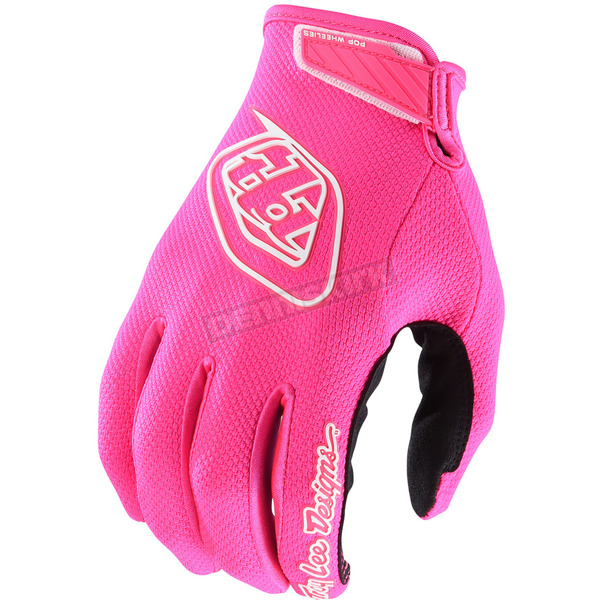 Troy Lee Designs Fluorescent Pink Air Gloves - 404503002