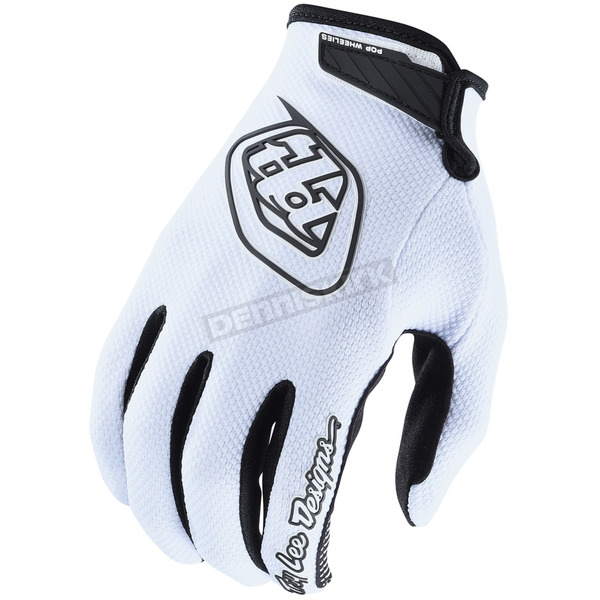 Troy Lee Designs White Air Gloves - 404503102