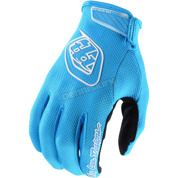 Troy Lee Designs Youth Light Blue Gloves - 406503302