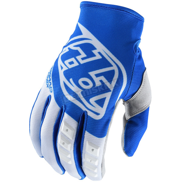 Troy Lee Designs Blue/White GP Gloves - 407003034