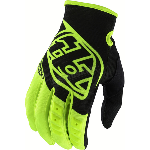 Troy Lee Designs Fluorescent Yellow GP Gloves - 407003554