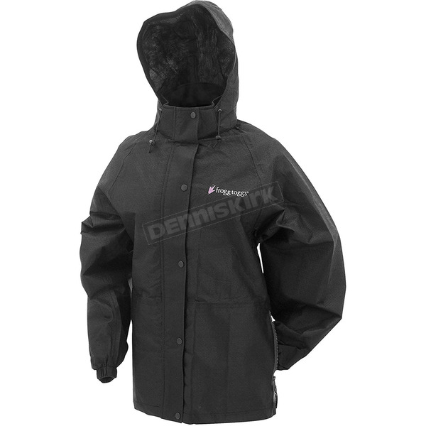 Frogg Toggs Women's Black Pro Action Rain Jacket - PA63523-01LG
