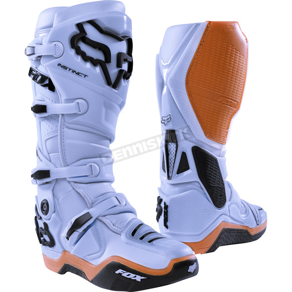 Fox Light Gray Instinct Boots - 12252-097-14